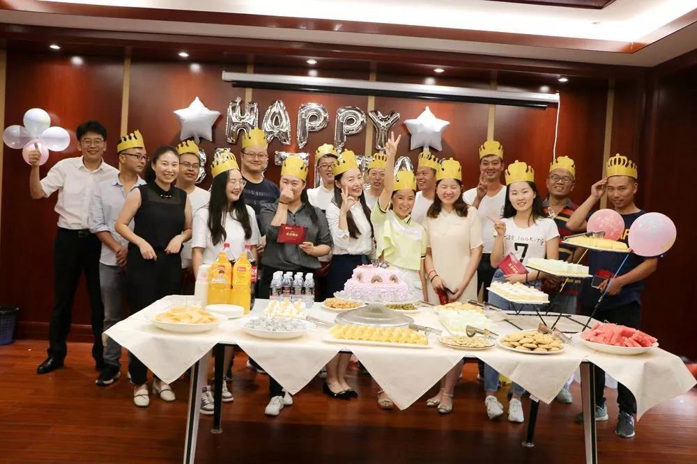 小Party,大感动!富康集团8月份员工生日会圆满举行